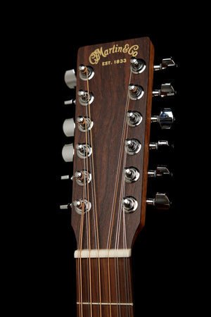 Martin D-X2E 12-String Acoustic Electric Guitar: X Series