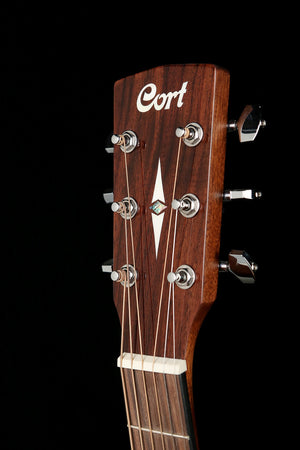 Cort L100F-OMBW  Acoustic Electric Guitar - acousticcentre
