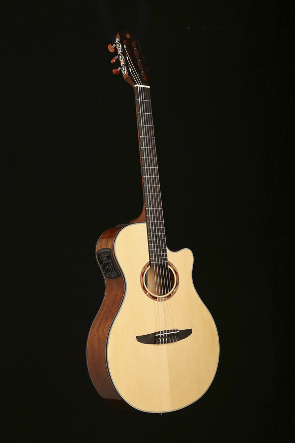 Yamaha NTX700 Nylon Electric Classical Guitar - acousticcentre