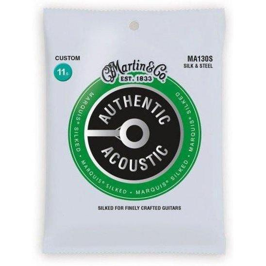Martin MA130S Marquis Silk & Steel Acoustic Guitar Strings - .0115 - .047