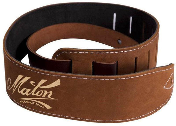 Maton Leather Straps - acousticcentre