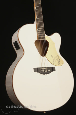 Gretsch G5022CWFE Rancher White Falcon Acoustic Electric Guitar - acousticcentre