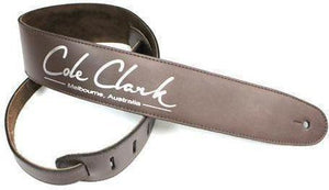 "Cole Clark 2.5"" Leather Strap - acousticcentre"