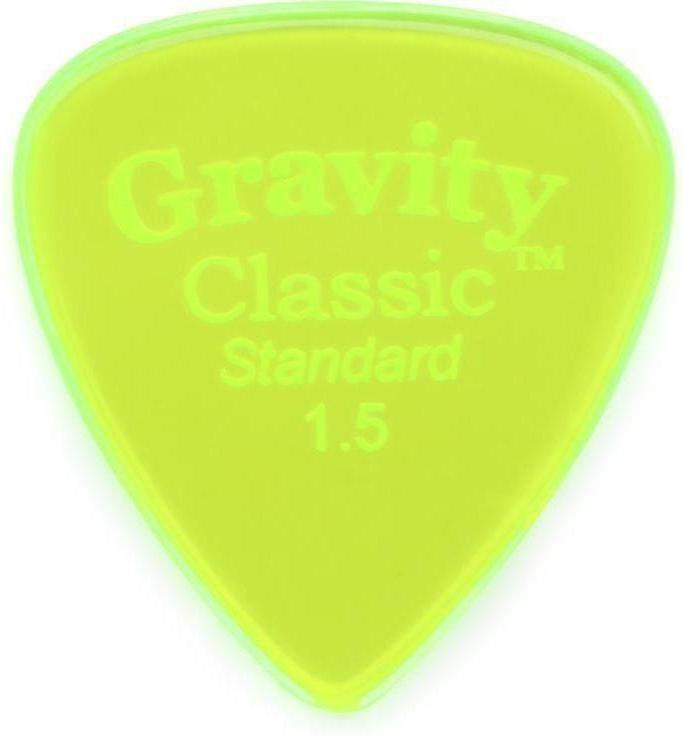 Gravity Classic Standard Polished Acrylic Plectrums