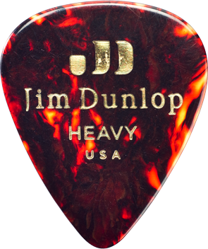 Jim Dunlop Genuine Celluloid Picks - 12 Pack - acousticcentre