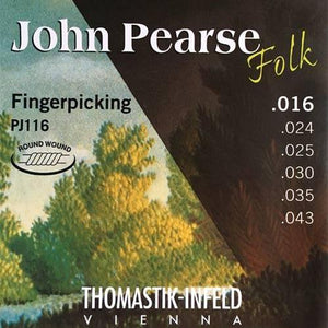 Thomastik-Infeld 'John Pearse Folk Fingerpicking' Round Wound Nylon Guitar Strings