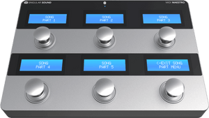 MIDI Maestro Foot Controller for BeatBuddy, Aeros and Other MIDI Gear