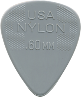 Dunlop Nylon Standard Picks - 12 Pack - acousticcentre