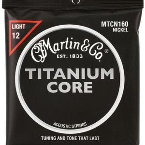 Martin Titanium Core Acoustic Guitar Strings