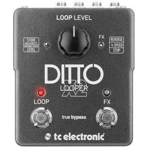 Tc Electrics Ditto Looper X2 Pedal - acousticcentre