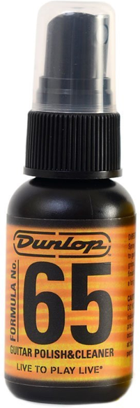 Dunlop Formula 65 Polish and Cleaner 30ml - acousticcentre