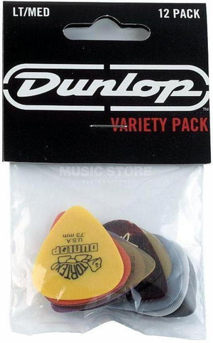 Dunlop  Variety Picks - 12 Pack - acousticcentre