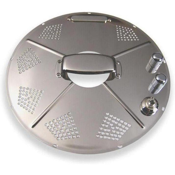 National Hotplate Resonator Pickup - Chrome