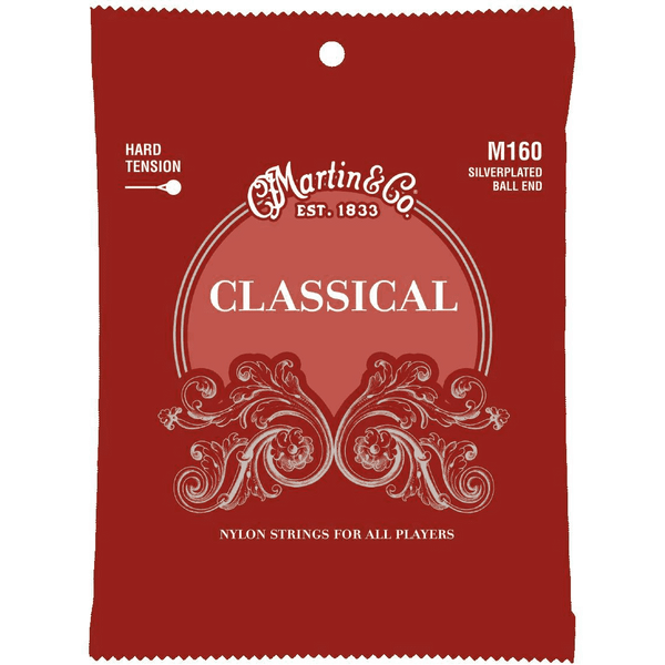 Martin M160 Ball End High Tension Classical Guitar Strings