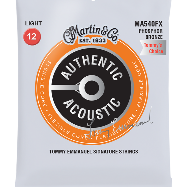 Martin Authentic Acoustic Tommy Emmanuel Signature Acoustic Guitar Strings