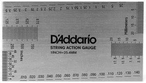 D'Addario String Height Gauge - acousticcentre