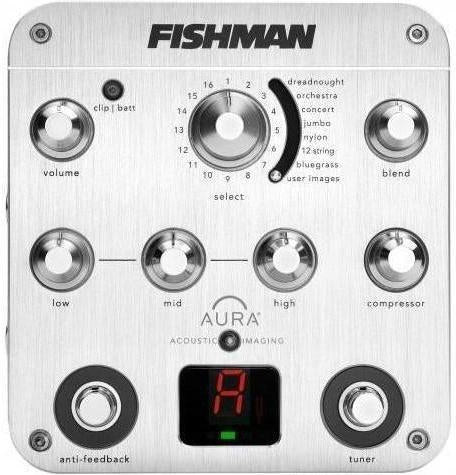 Fishman Aura Spectrum DI And Preamp - acousticcentre