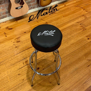 Maton Leather Bar Stool