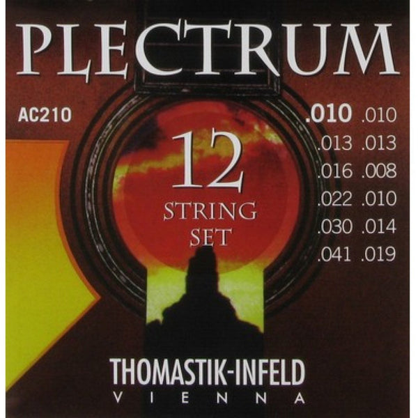 Thomastik-Infeld Plectrum 12-String Bronze Acoustic Guitar Strings - .010 - .041