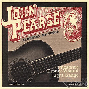 John Pearse Phosphor Bronze Acoustic Guitar Strings