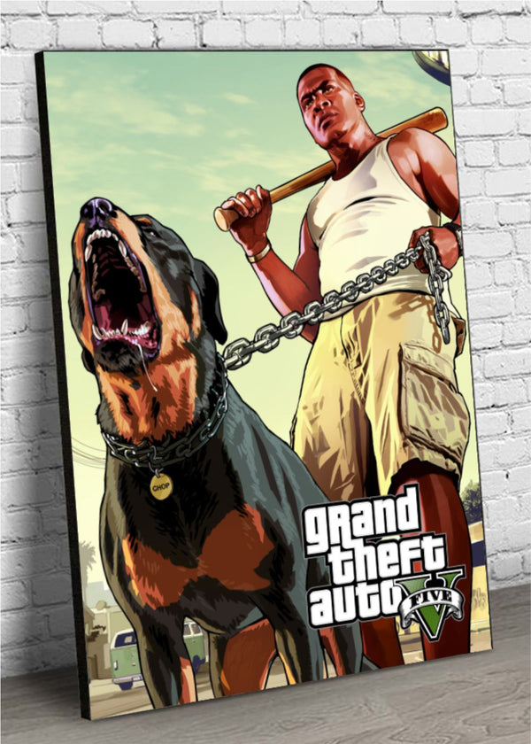 Quadro Decorativo MDF GTA V Live