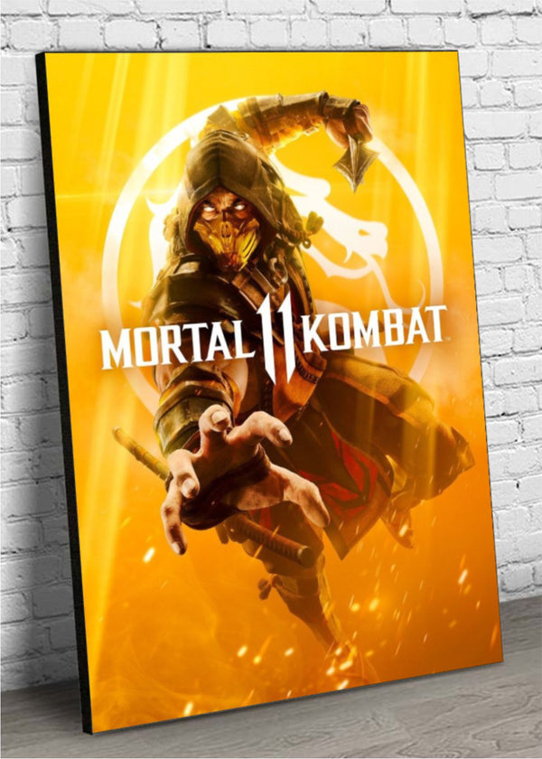 Quadro Decorativo MDF Mortal Kombat 11