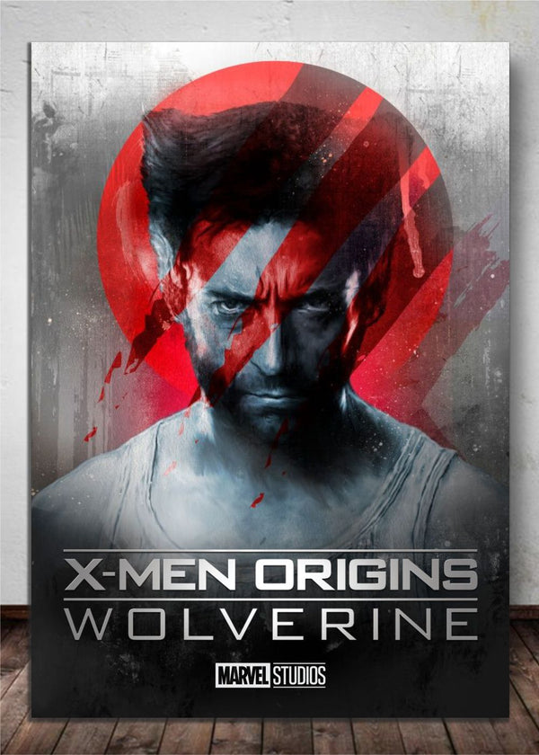 Quadro Decorativo Wolverine X-mam Origins Marvel