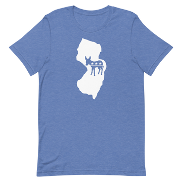 NJ Democratic Short-Sleeve Unisex T-Shirt