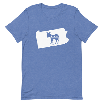 PA Democratic Short-Sleeve Unisex T-Shirt