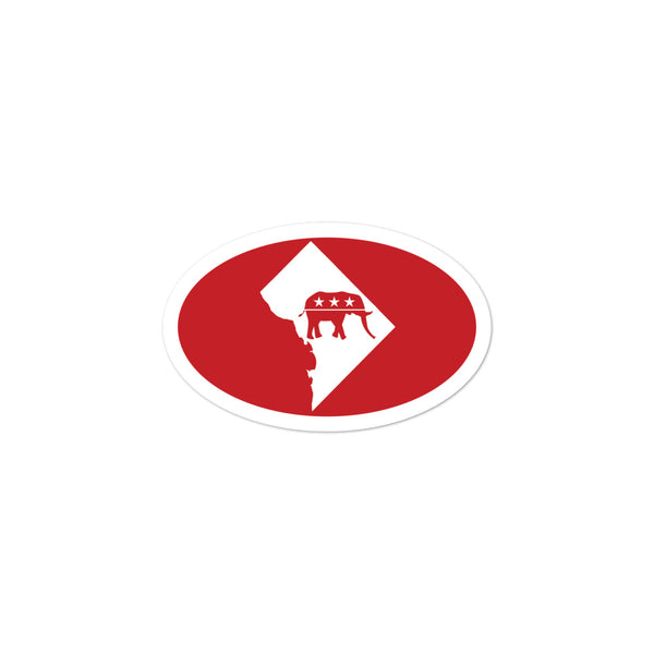 DC Republican Sticker