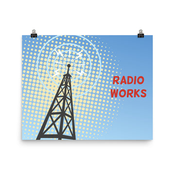 Radio Works Poster