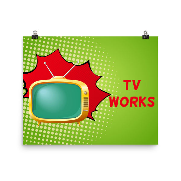 TV Works Poster
