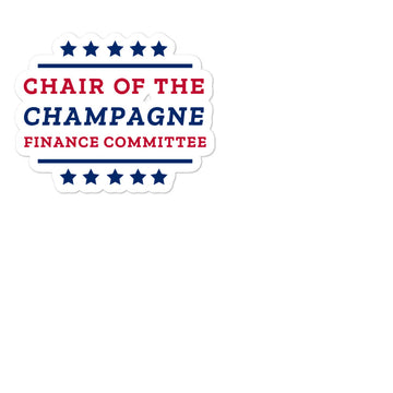 Champagne Committee Sticker