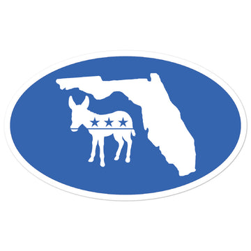 FL Democratic Sticker
