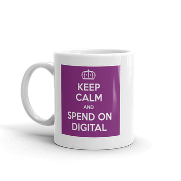 Keep Calm & Spend On Mug