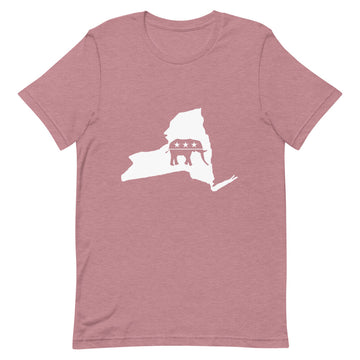 NY Republican Short-Sleeve Unisex T-Shirt