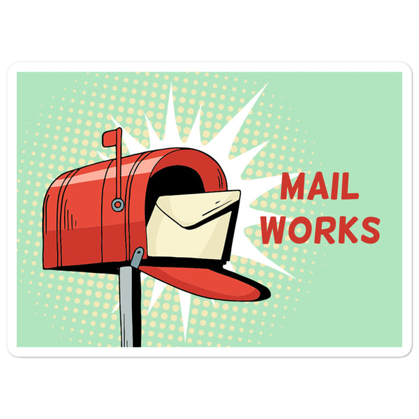 Mail Works Sticker