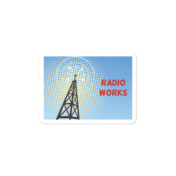 Radio Works Sticker