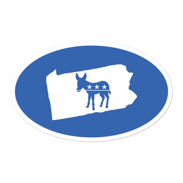 PA Democratic Sticker