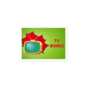 TV Works Sticker