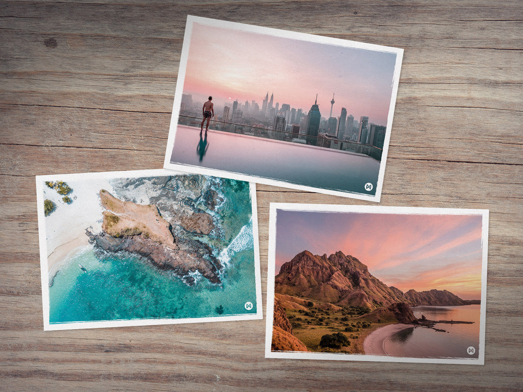 Southeast Asia 3 Postcards Set