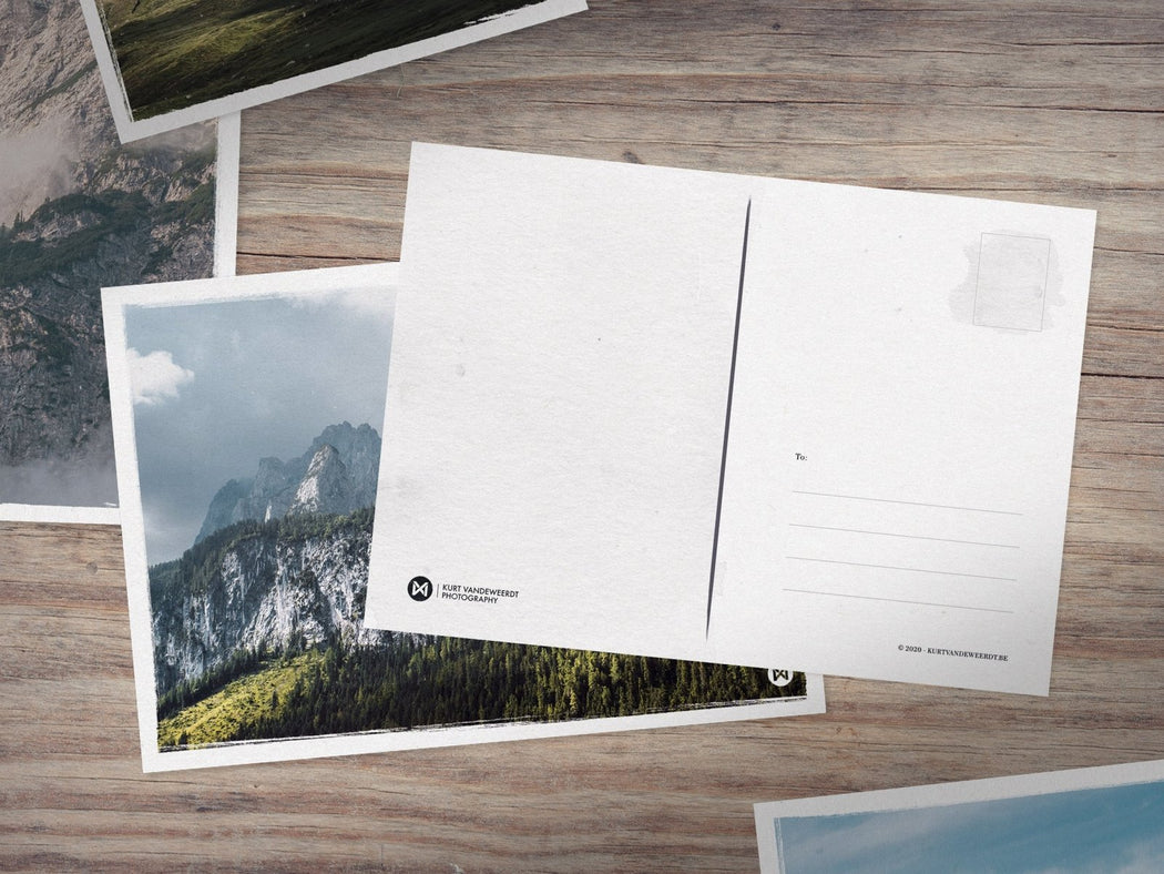 Mountains 3 Postcards Set - Kurt Vandeweerdt Photography