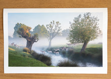 Load image into Gallery viewer, Deer Crossing Richmond Park Print