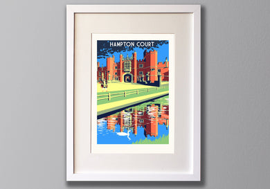 Hampton Court Palace Print