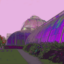 Load image into Gallery viewer, Kew Palm House Print
