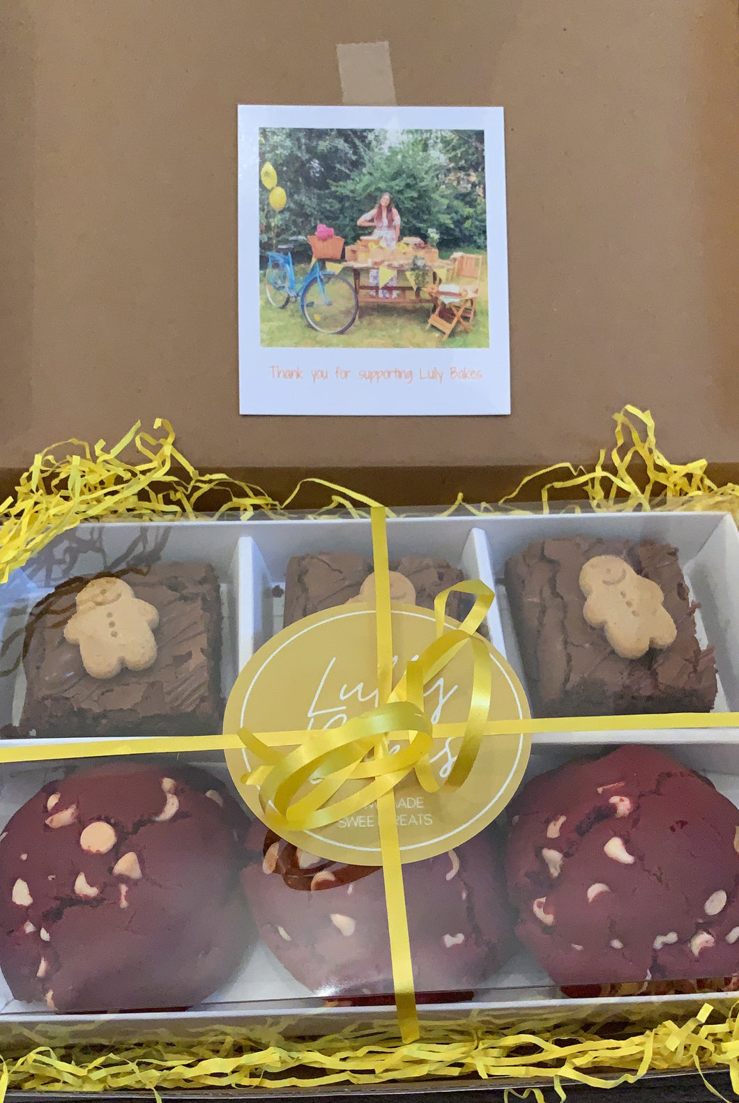 Brownie & Cookie Letterbox