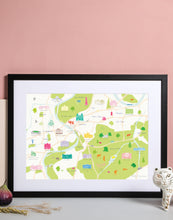 Load image into Gallery viewer, Richmond Map Art Print