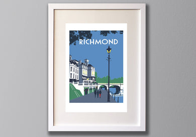 Richmond Riverside Print
