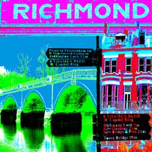 Load image into Gallery viewer, Richmond Collage Print