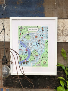 Richmond Map Print
